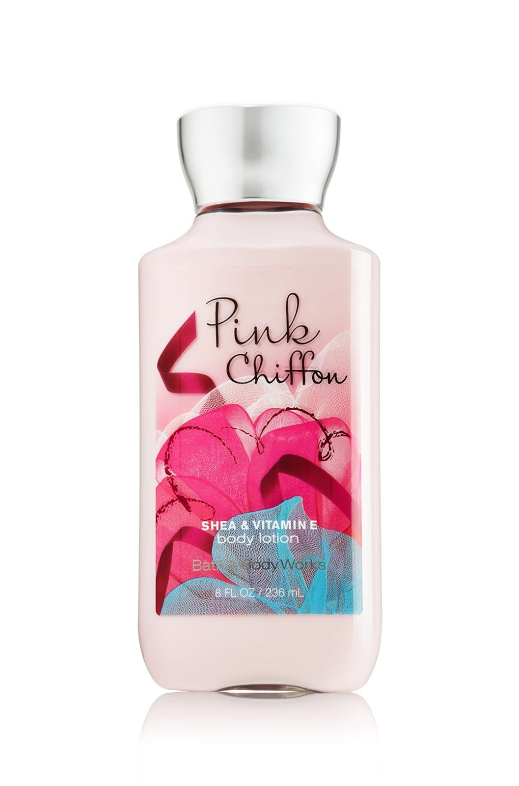 Bath Body Works Pink Chiffon Body Lotion By Eileentanbiz