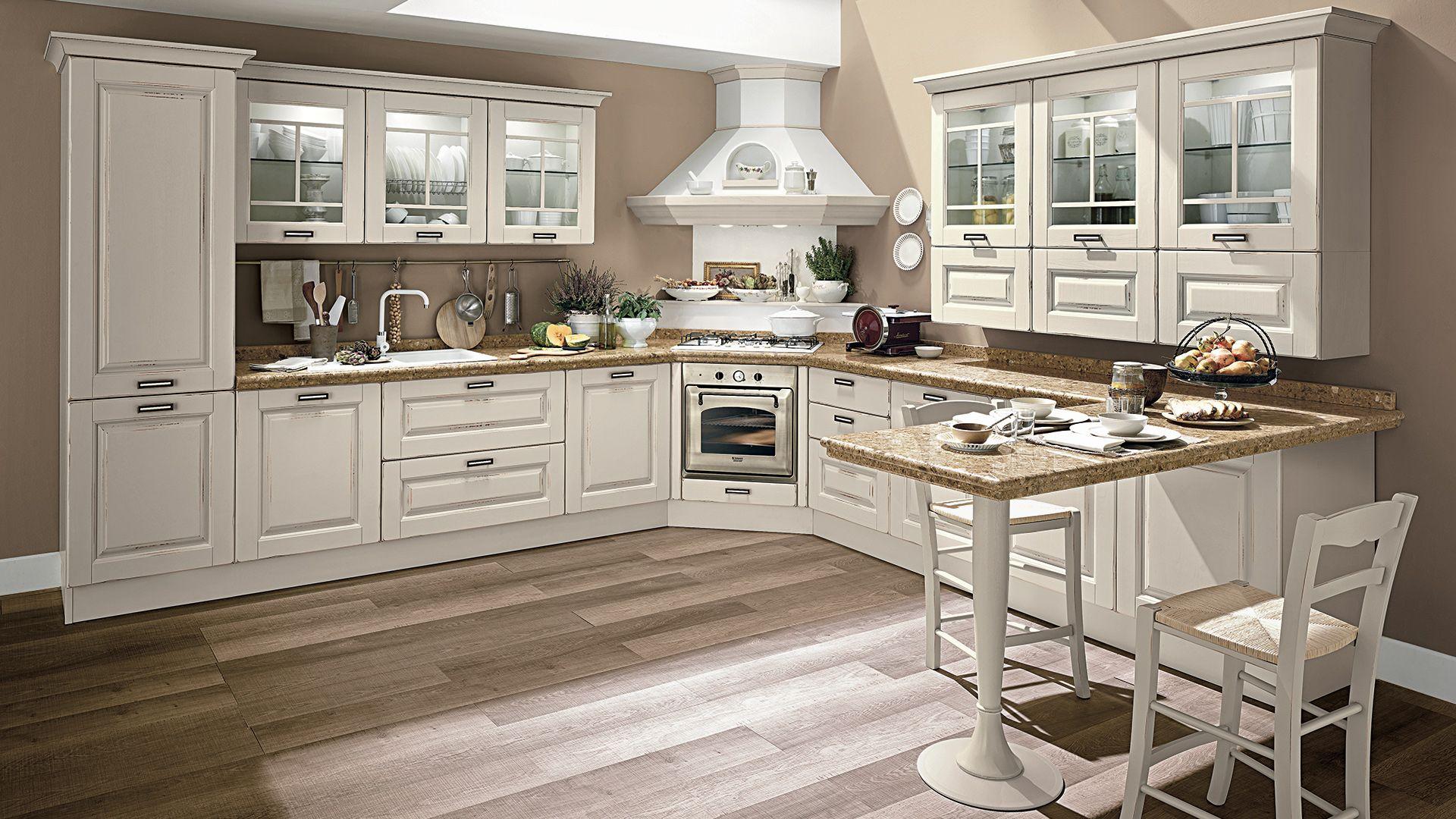 Laura - Cucine Classiche - Cucine Lube | Konyha | Kitchen decor ...
