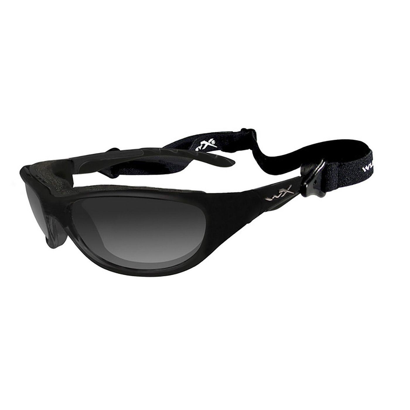 Cвето-настраиваемые (LA™) защитные очки Wiley X AIRRAGE 696 с дымчато-серыми линзами