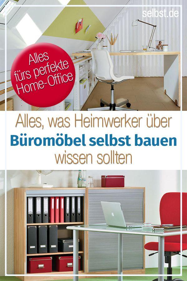 Büromöbel selber bauen Wohnung finden, Arbeitszimmer