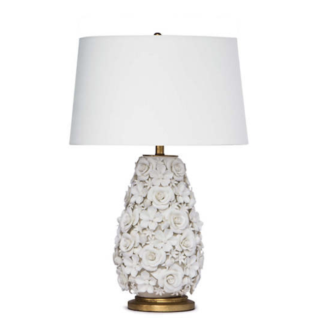 Fondant Floral Lamp Furniture In 2020 Lamp Table Lamp Table Lamp Design