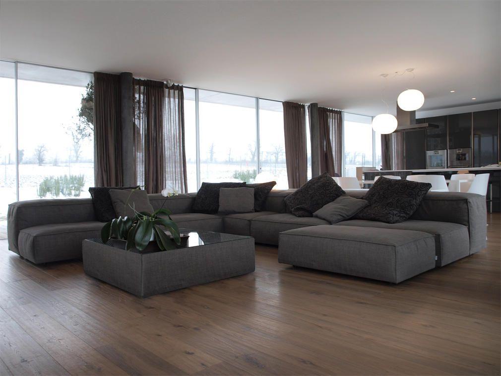 progetto di arredamento per il soggiorno, con divano, mobili ... - Soggiorno Living Progetto