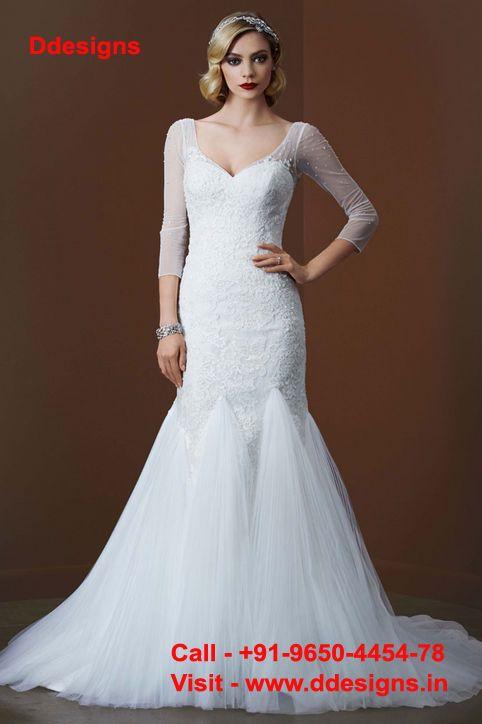 http://ddesigns.in/ #Christian #Wedding #Gown in delhi | Wedding ...