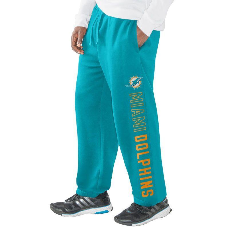 Miami Dolphins Hands High Lifestyle Perfect Game Sweatpants - Aqua ... b900047df
