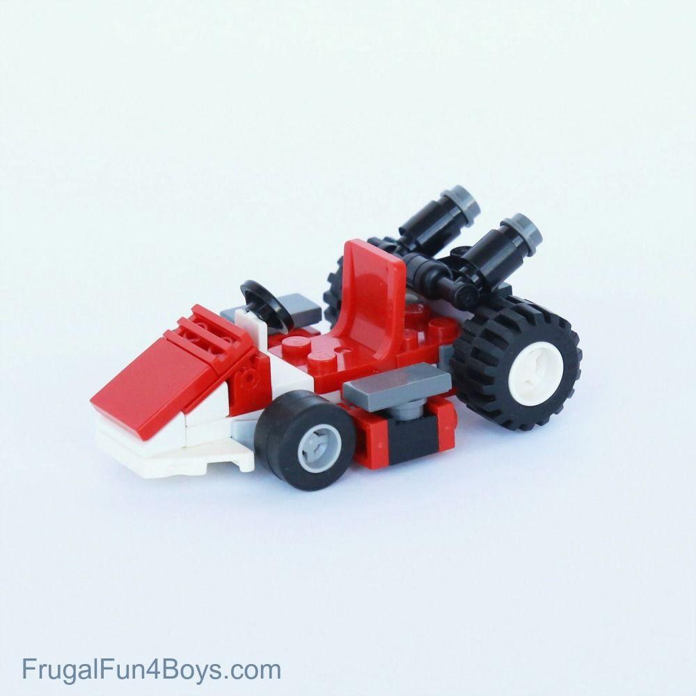 Mario Lego Projects With Building Instructions Eli Lego Mario