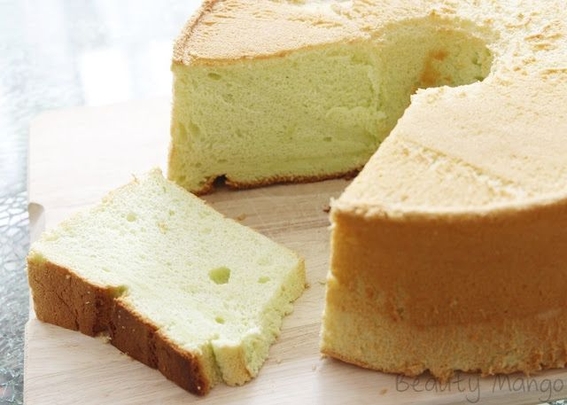 Rezept Pandan Chiffon Cake Beauty Mango Kuchen Und Torten Kuchen Ideen Asiatische Desserts