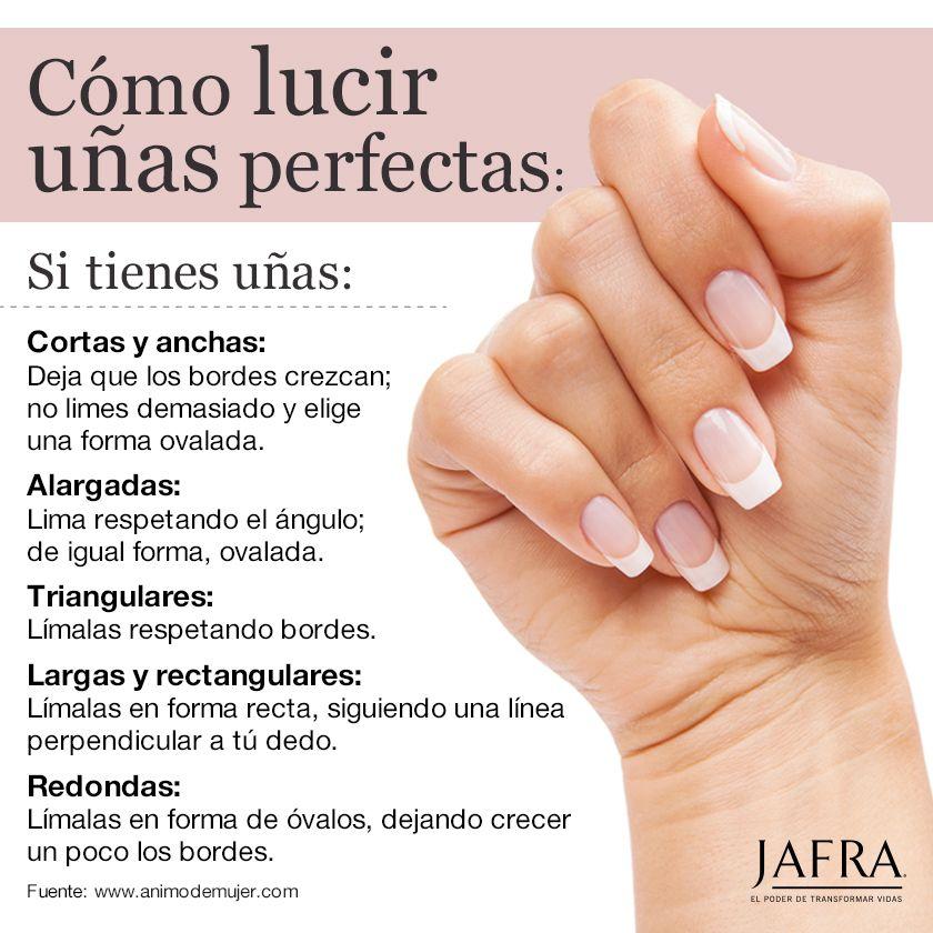 #unas #belleza | Como limar las uñas, Cuidado de las uñas ...