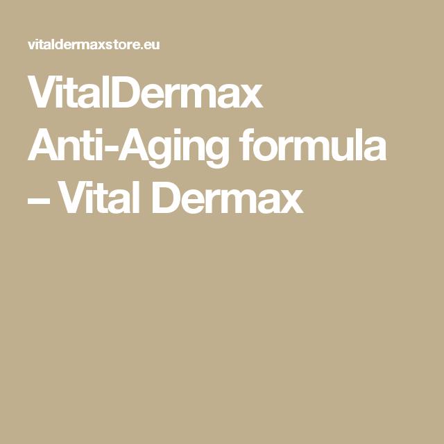 VitalDermax Anti-Aging formula - Vital Dermax