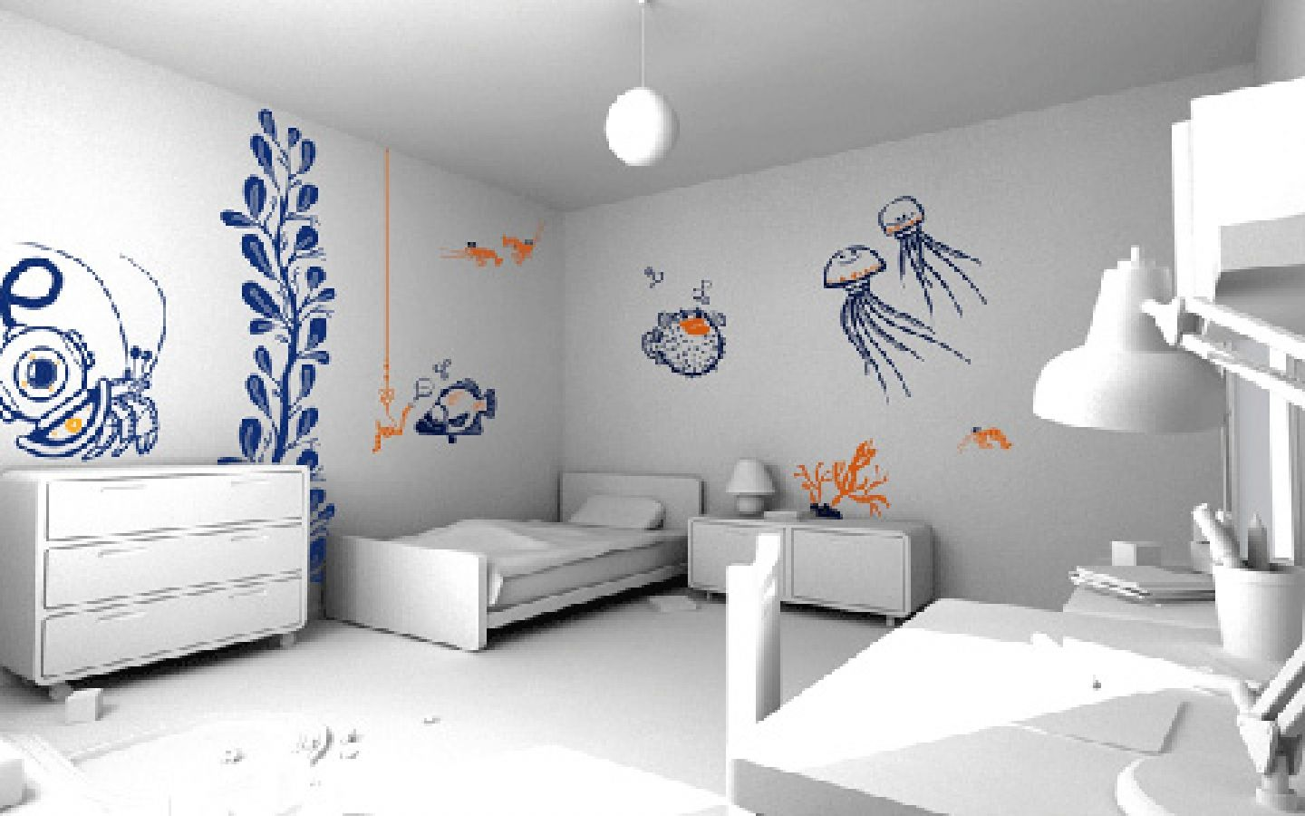 Cool Wall Painting Ideas For Your Room Decoration Lovely