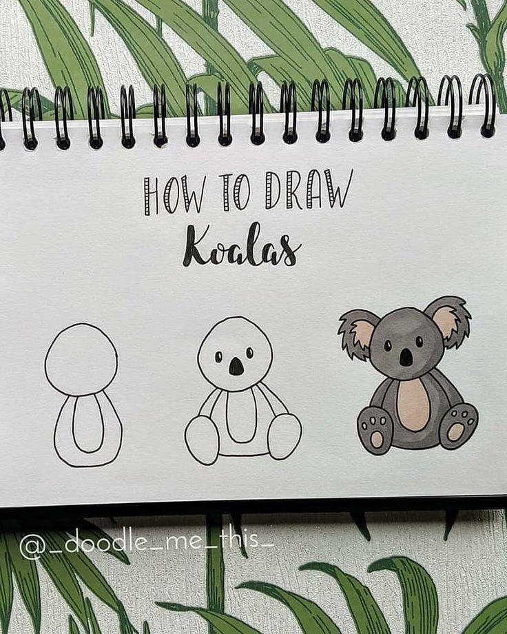 Photo of Koala zeichnen