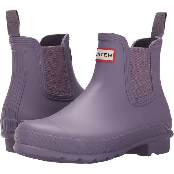 Womens Boots Hunter W Original Chelsea RMA US Thundercloud