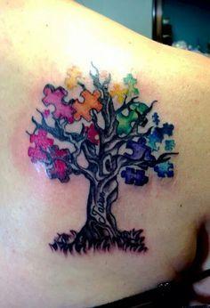 Autism Tattoos Google Search Tattoo Pinterest Calaberas - Juegos-de-tatuajes-para-nios
