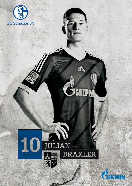 Fy Schalke 04 Julian Draxler The Young Ones J E M