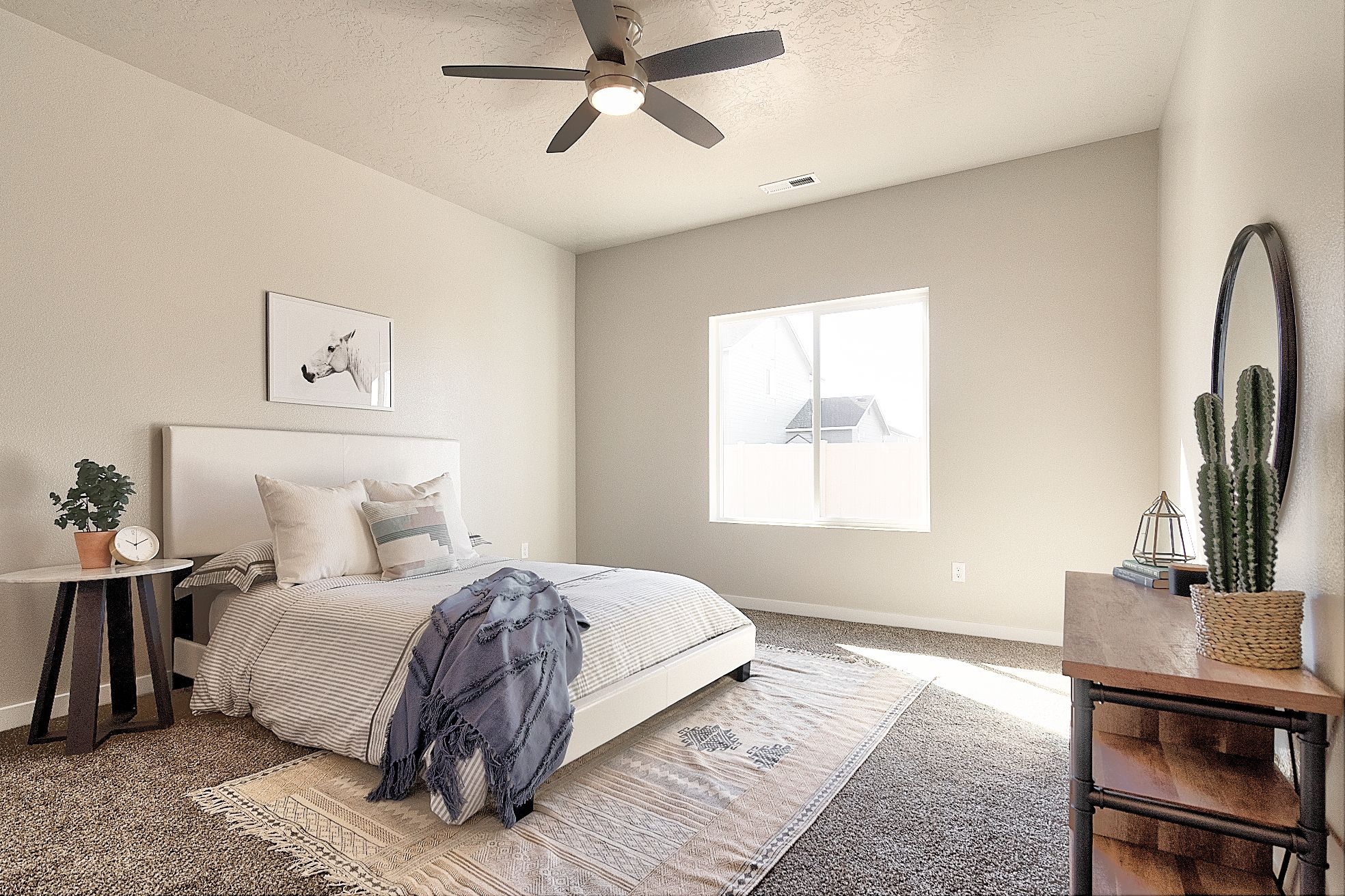 Looking To Give Your Master Bedroom A Makeover Add A Rug Under Your Bed To Create A Dreamy Masterpiece Home Home Builders Home Decor