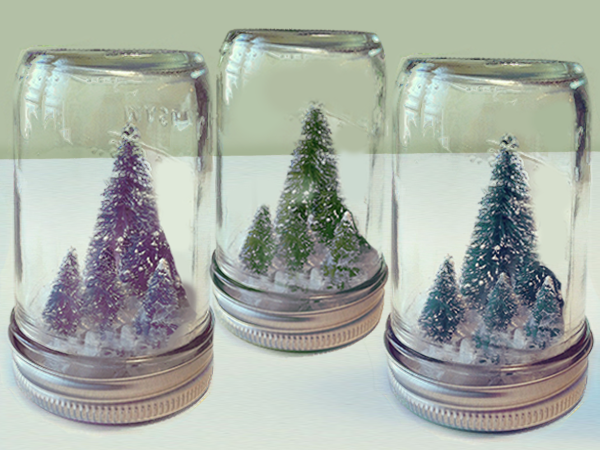 Superior DIY Mason Jar Christmas Crafts: Miniature Christmas Tree In A Jar
