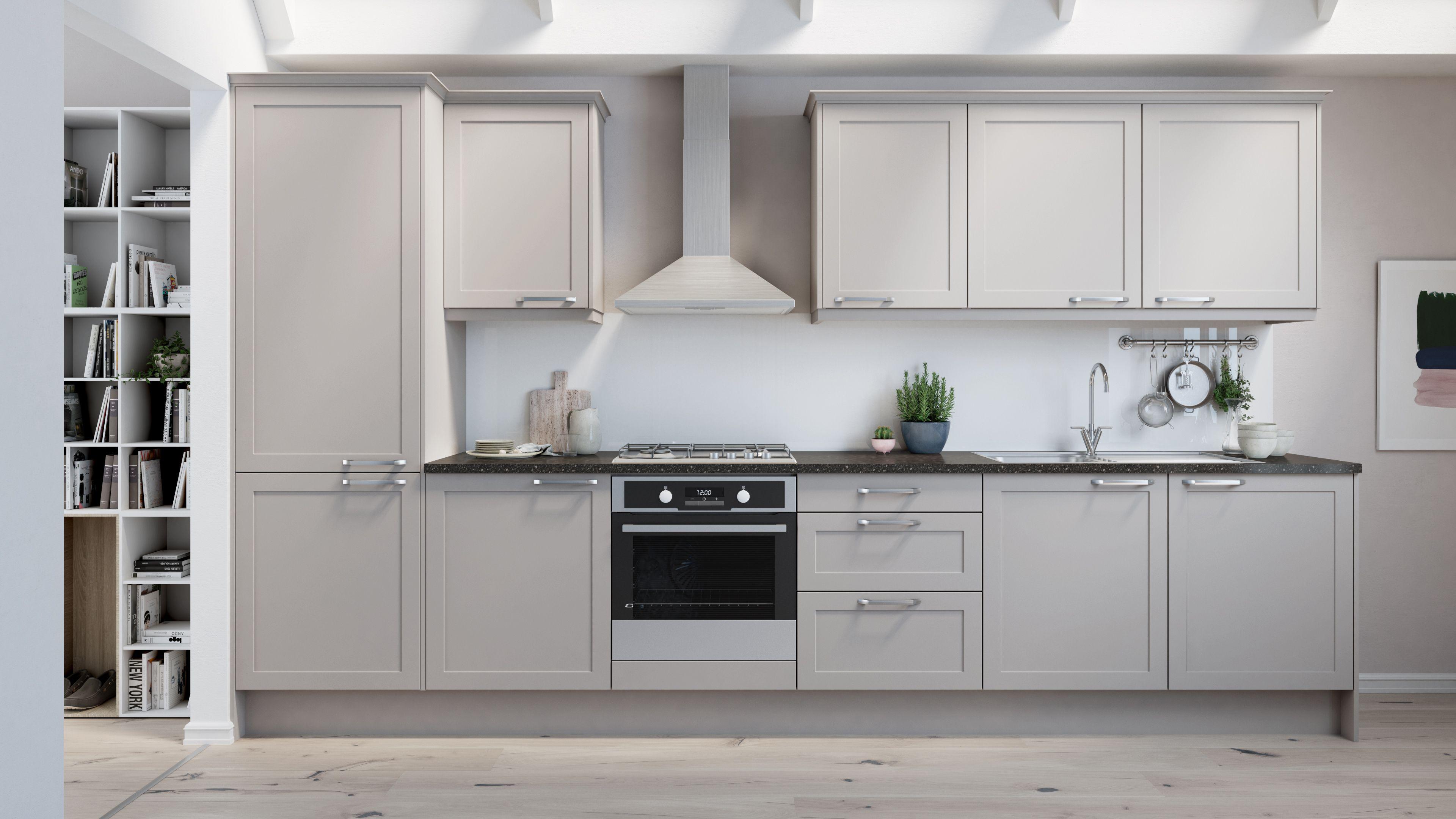 Dunham light grey Kitchen prices, Kitchen
