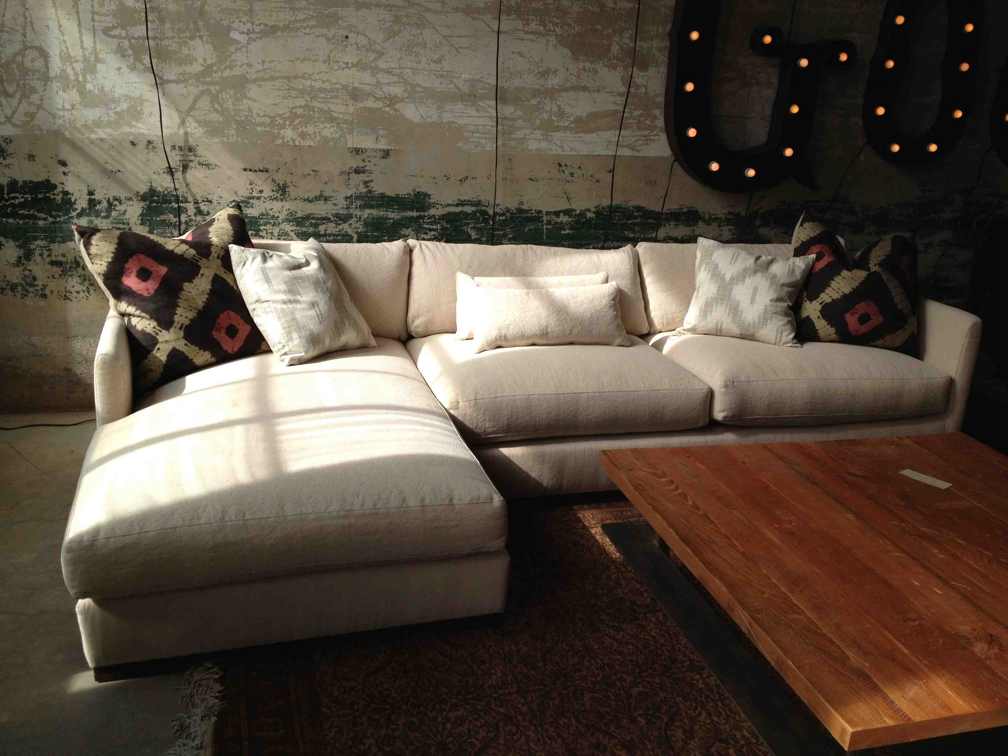 urbanite sofa cars couch bed cisco brothers dexter sectional 128wx28hx68d l andd rooms
