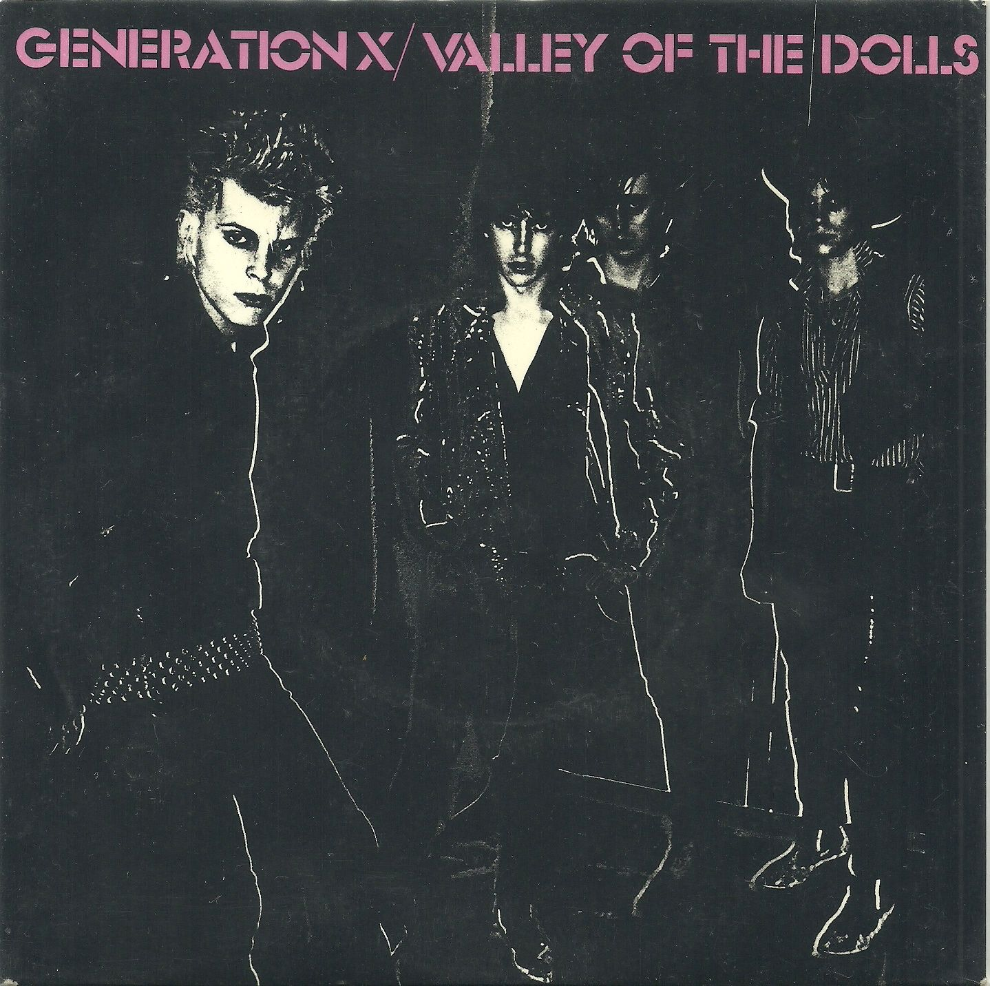 Le English Punk.........Billy Idol on the left,before