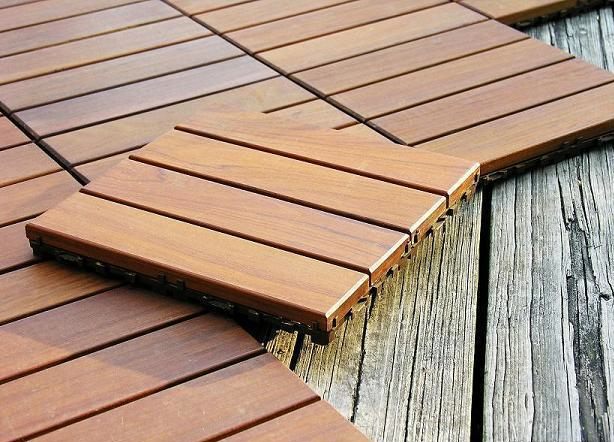 Modular Ipe Decking Wood Deck Tiles Patio Tiles Outdoor Flooring