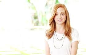 jayma mays American Actress stars in The Smurfs, Glee
