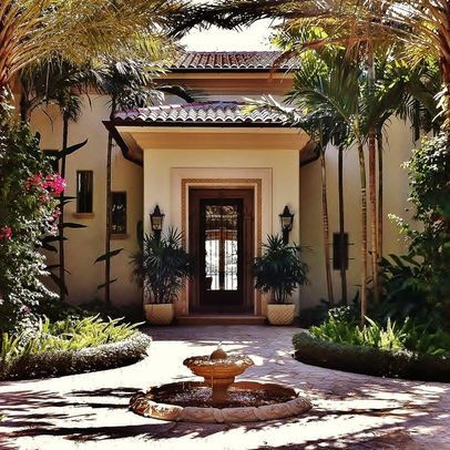 Front Courtyard Design Ideas, Pictures, Remodel, And Decor   Page 7
