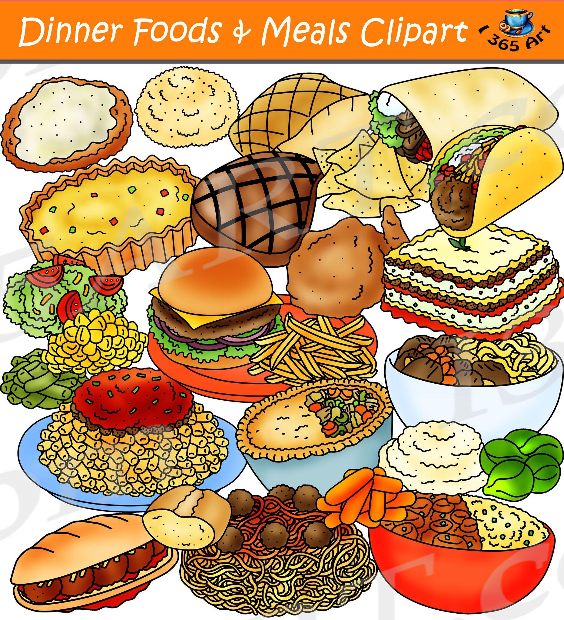 Dinner Foods Clipart Dinner Meals Clipart Download Clipart 4 School Food Clipart Easy Chicken Dinner Recipes Dinner Recipes