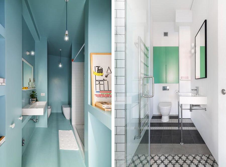 Risultati immagini per bagni piccolissimi progetti | Bathroom Space ...