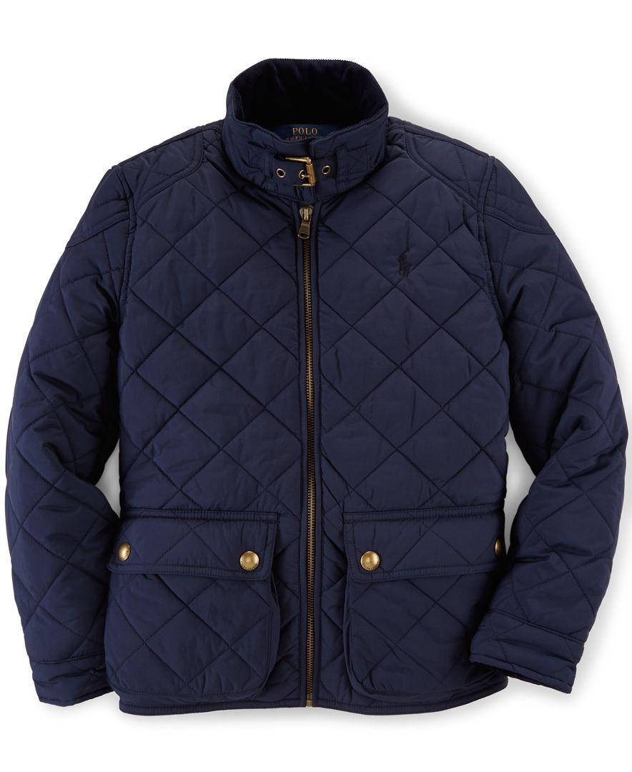 Ralph Lauren Girls' Quilted Jacket