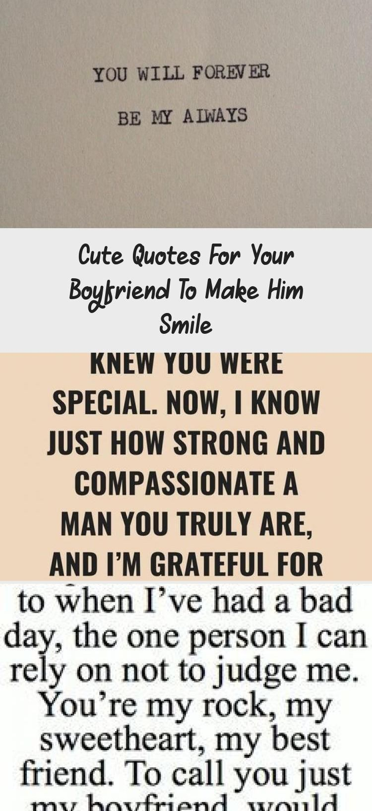 Cute Quotes For Your Boyfriend To Make Him Smile Be Yourself