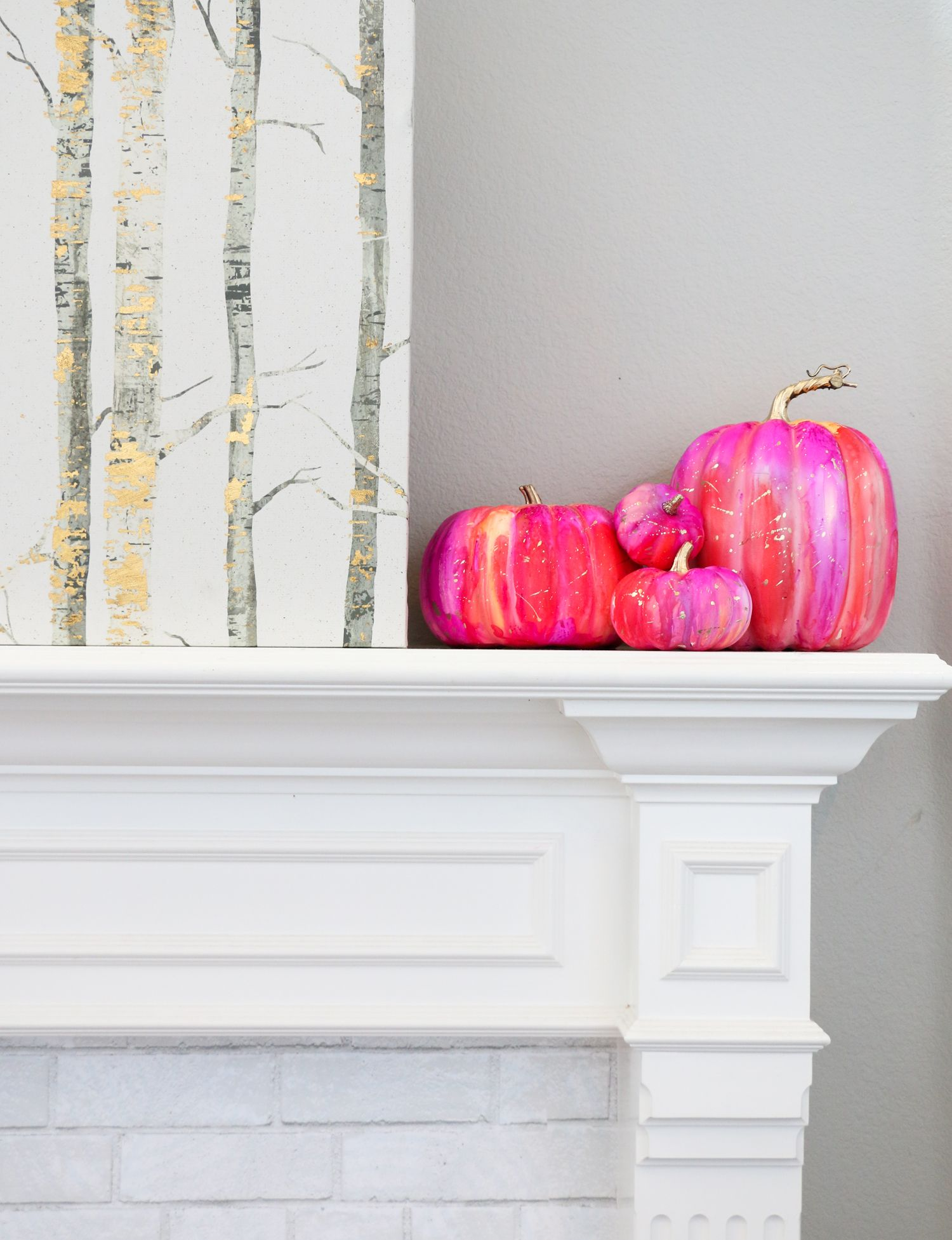 Make Your Own Alcohol Ink Pumpkins