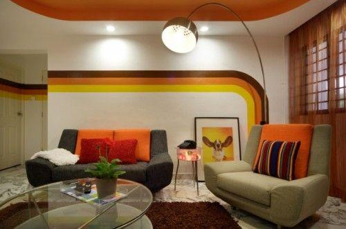 Living Room Inspiration 60s 70s Retro Living Rooms Retro
