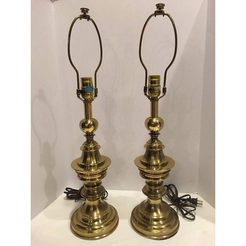 Stiffel Brass Vintage Table Lamps A, Stiffel Brass Lamps Value