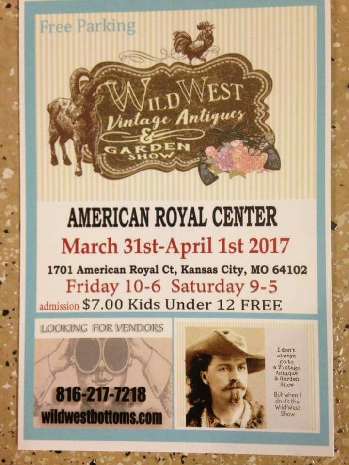 Wild West Vintage Antiques And Garden Show Kansas City Mo