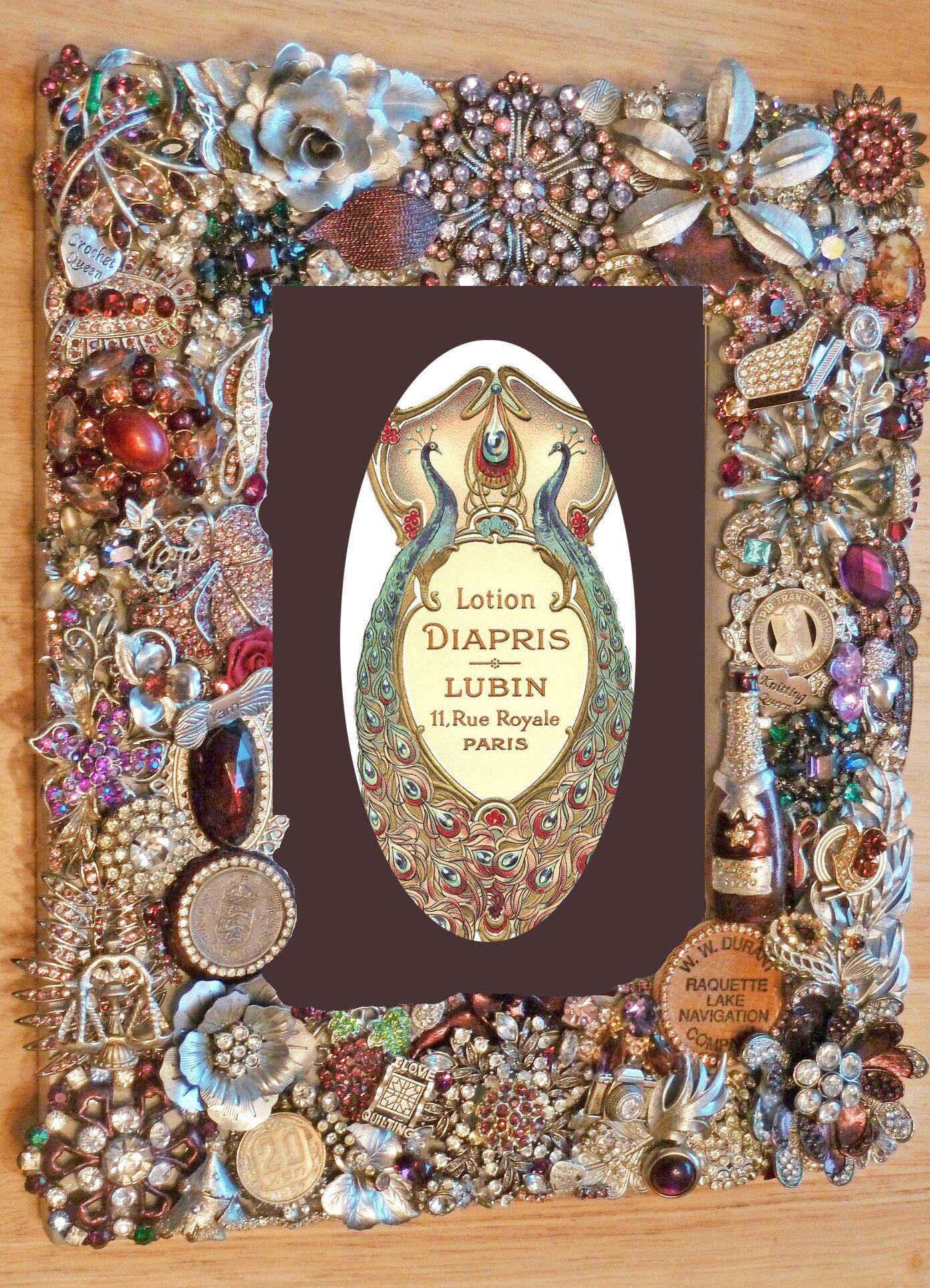 Beautiful Personalized Burgundy Jeweled Frame | Beautiful ...