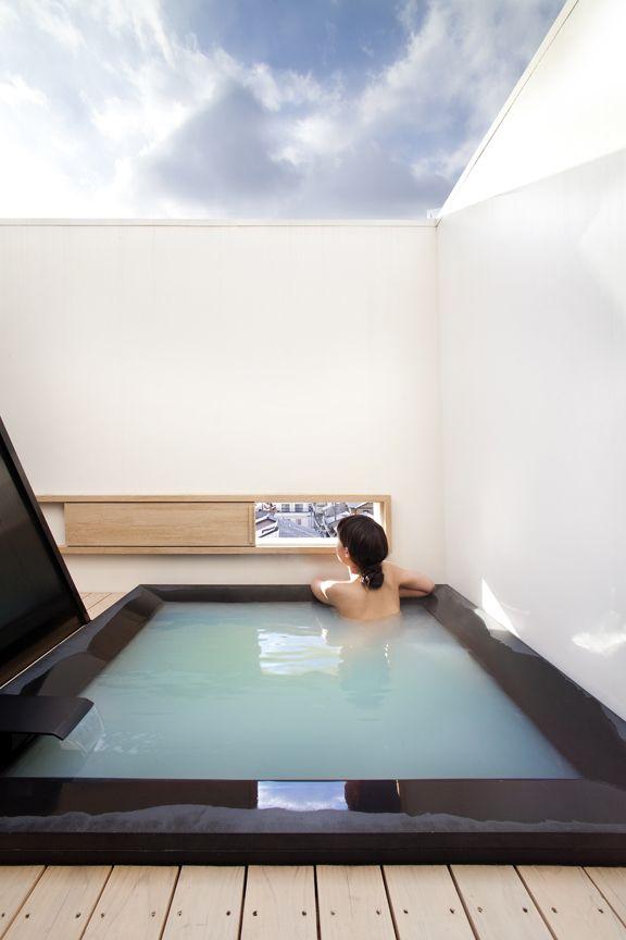Hotel Kanra Kyoto Japan Luxury House Designs Pool Hot Tub Cool Pools