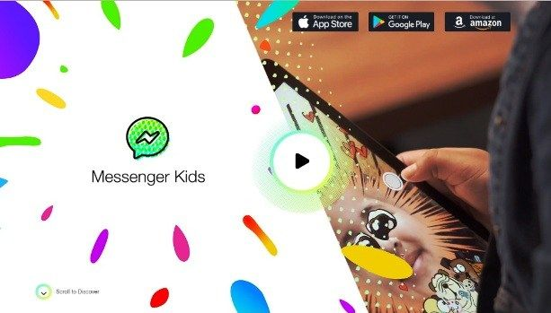 Facebook Launched controversial Messenger Kids app to play