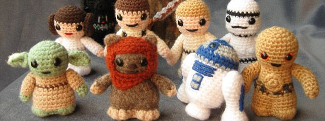 Crocheted Star Wars Characters