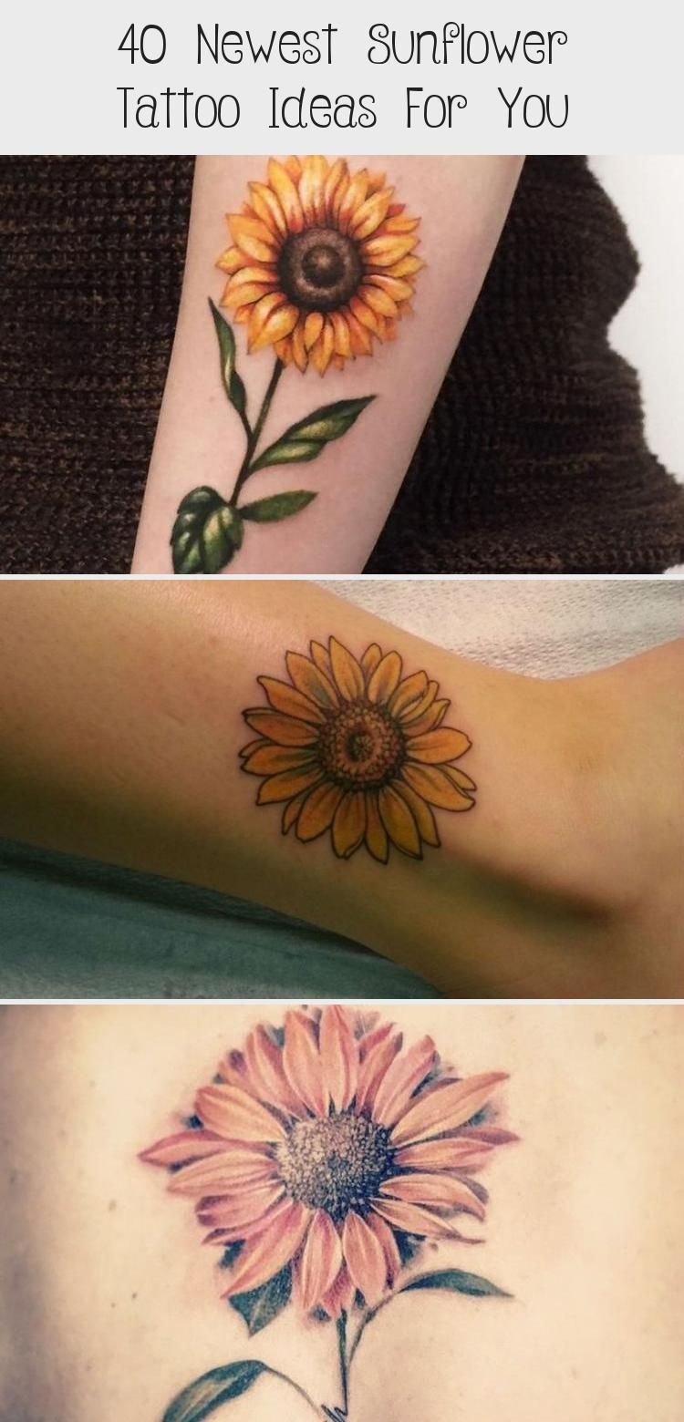 Photo of 40 Newest Sunflower Tattoo Ideas For You – Best Tattoos