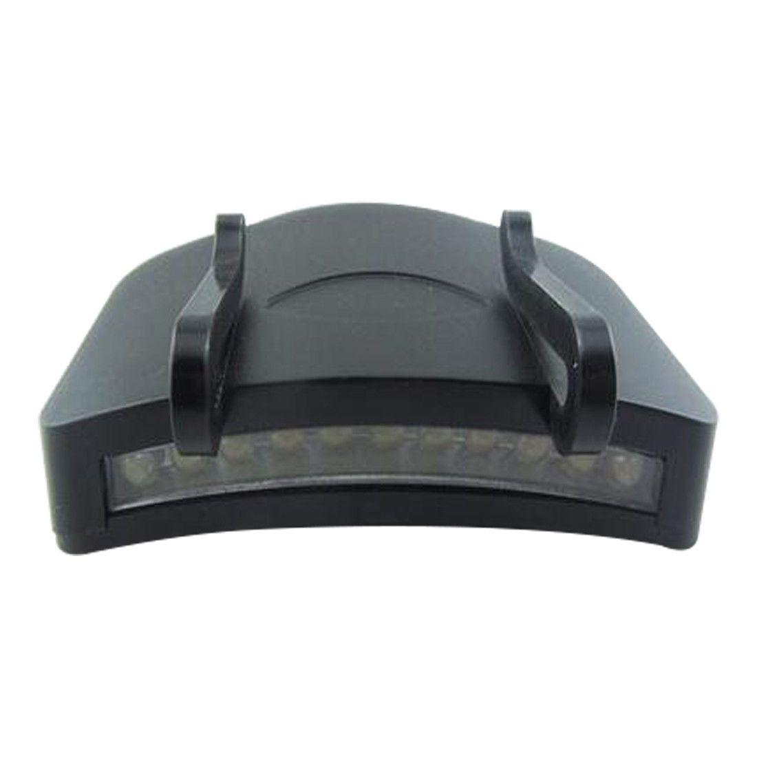 Super Bright 11 LED cap light Fishing Headlight HeadLamp head Flashlight IJ