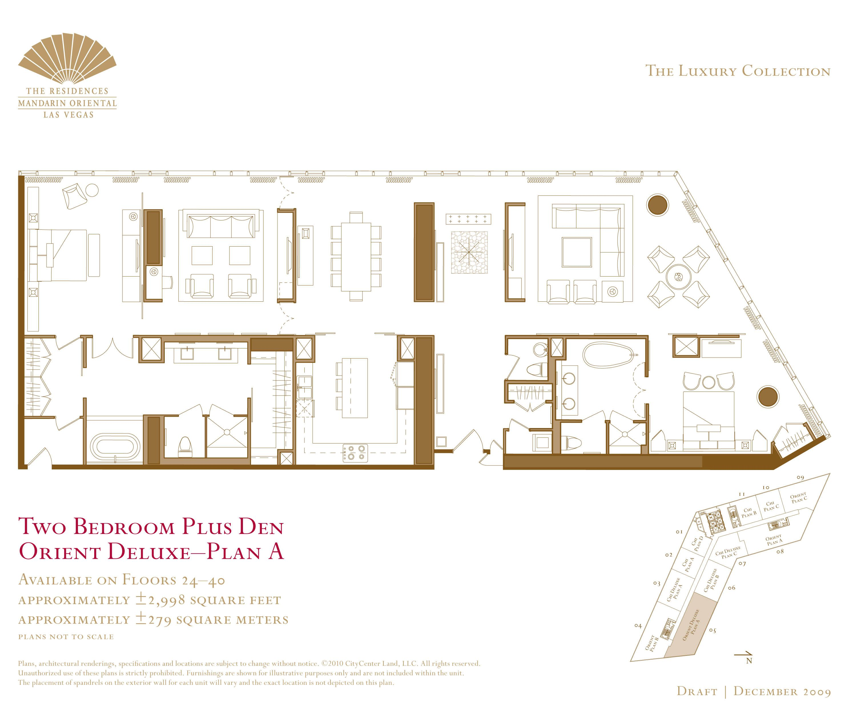 Resultado De Imagem Para Mandarin Oriental Plan  Hotel Plan New 2 Bedroom Suites Las Vegas Strip 2018