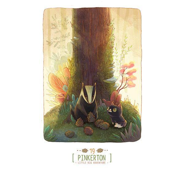 Pinkerton: Little Big Adventure by Alena Tkach