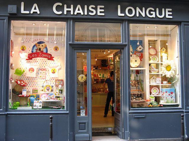 La Chaise Longue Photo Storage Paris Shopping Shop Design
