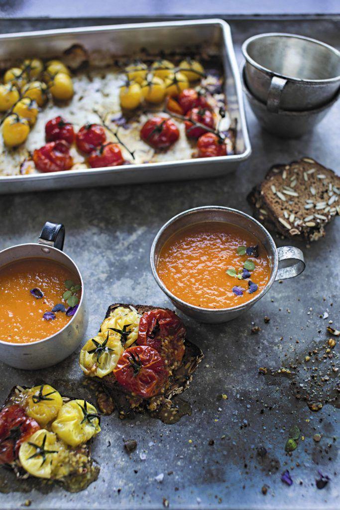 Sopa de tomate exprés