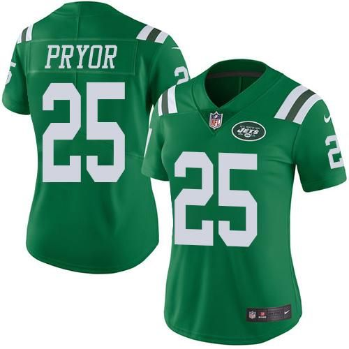Nike Jets 25 Calvin Pryor Green Women S Stitched Nfl Limited Rush Jersey Jersey Nfl Ray Lewis Jersey