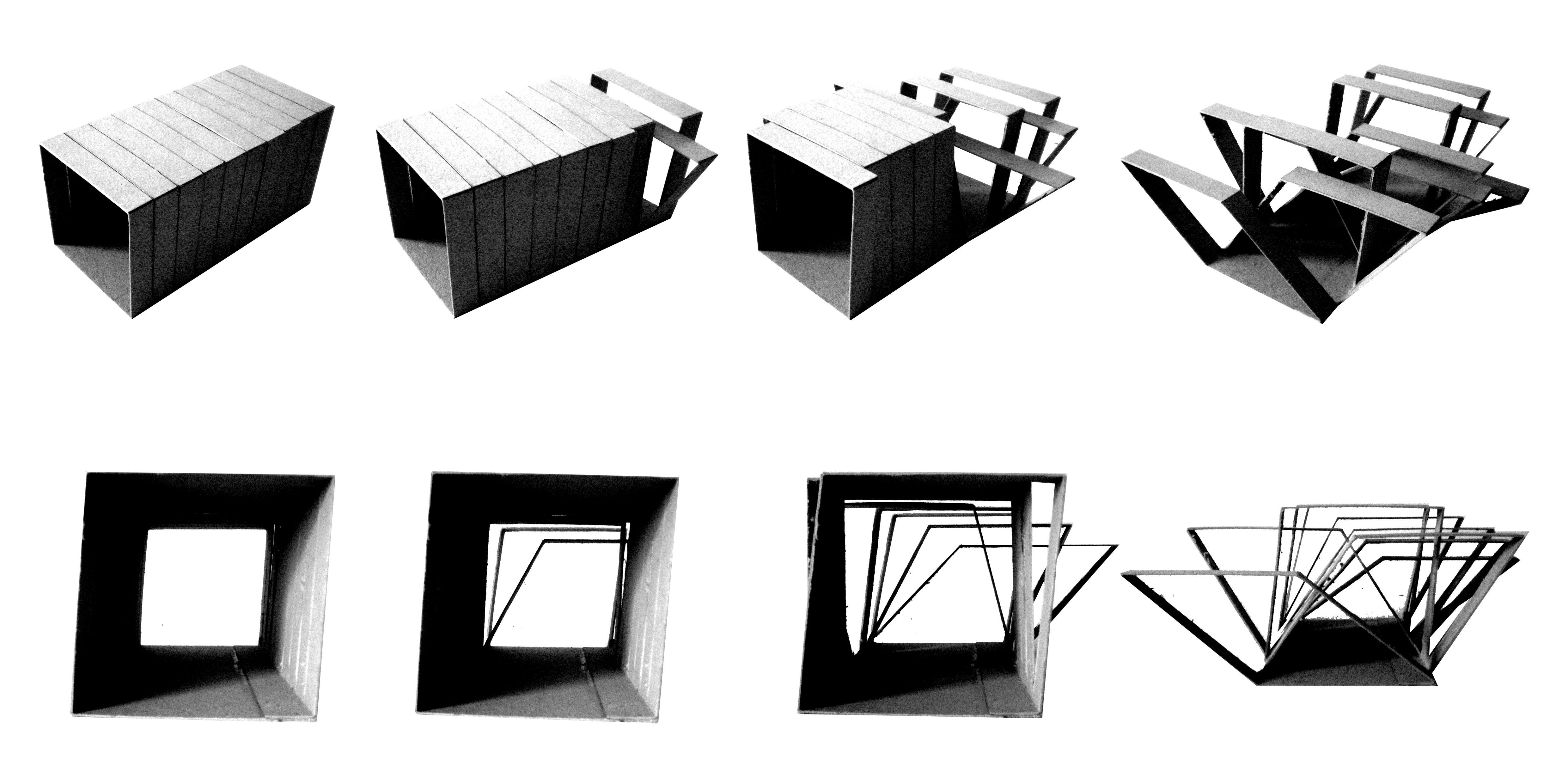 Step 2 concept milos jovanovic garment structuring architecture the developed is shape shifting - Shape shifting house ...