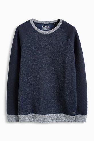 Esprit / mottled swe #menfitness #mensfitness #mensports #sweatshirts #hoodies #fitmen
