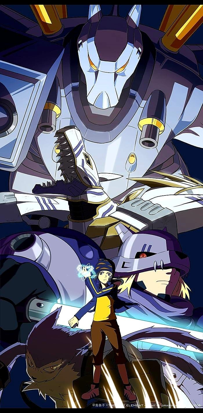 Pin by Toocoolya on Digimon frontier in 2020 Digimon