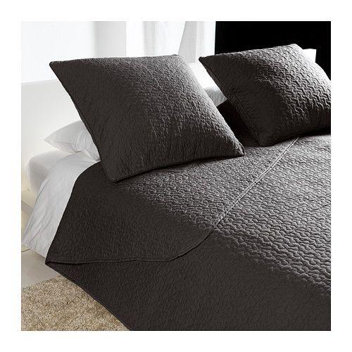 alina couvre lit et 2 housses coussin ikea grande douceur car le couvre lit et la housse de. Black Bedroom Furniture Sets. Home Design Ideas