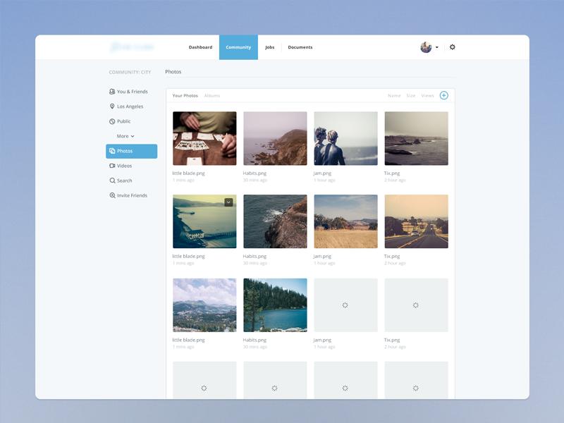 Photo Video Page Web Design Inspiration Interactive Design User Interface Design