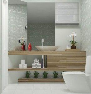Banheiro: Plantas